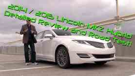 2014 Lincoln MKZ Hybrid Detailed Review and Road Test