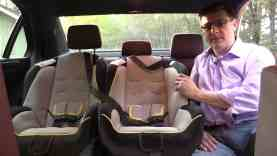2014 Mercedes E Class Child Seat Review