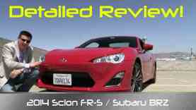 2014 Scion FR-S (AKA Subaru BRZ & Toyota 86) Review and Road Test – DETAILED