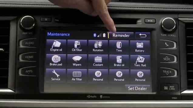 2014 Toyota Highlander Entune Infotainment and Navigation Review