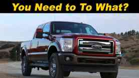 2015 / 2016 Ford Super Duty F250 F350 F450 Review