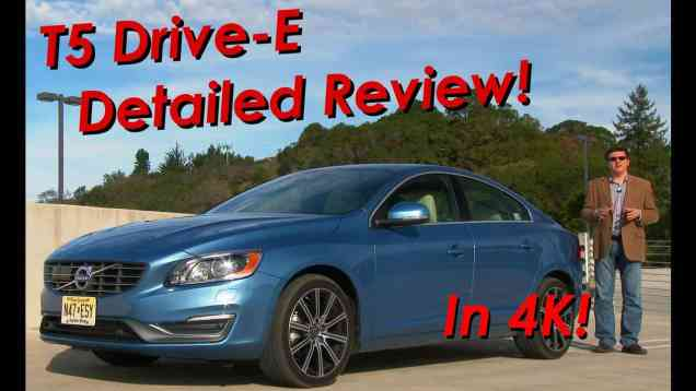 2015.5 Volvo S60 T5 Drive E Detailed Review and Road Test