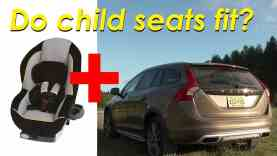 2015 5 Volvo V60 Cross Country Child Seat Review