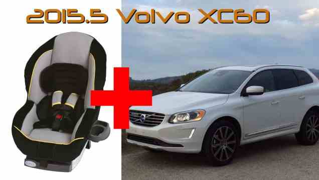 2015.5 Volvo XC60 Child Seat Review