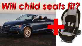 2015 Audi A3 Cabriolet Child Seat Review – In 4K