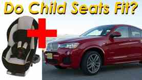 2015 BMW X4 Child Seat Review – In 4K