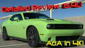 2015 Dodge Challenger R/T Scat Pack Detailed Review and Road Test in 4K