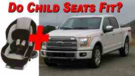 2015 Ford F-150 SuperCab Child Seat Review