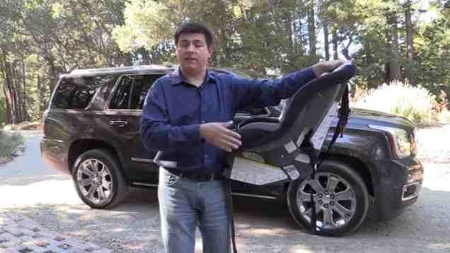 2015 GMC Yukon Chevrolet Tahoe Cadillac Escalade Chevrolet Suburban child seat review