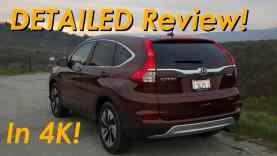 2015 Honda CR-V DETAILED Review and Road Test – In 4K