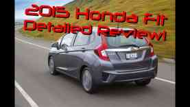 2015 Honda Fit Detailed Review and Road Test