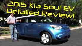 2015 Kia Soul EV First Drive Road Test and Review
