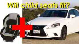 2015 Lexus IS 250 and IS 350 Child Seat Review In 4K