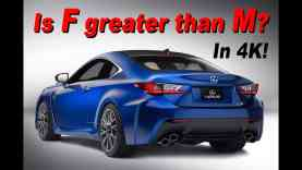 2015 Lexus RC F Review – Is F greater than M?