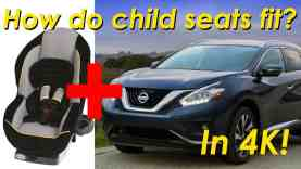 2015 Nissan Murano Child Seat Review