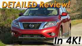 2015 Nissan Pathfinder 4×4 DETAILED Review and Road Test – In 4K!