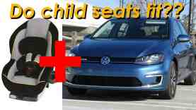 2015 Volkswagen Golf and eGolf Child Seat Review – In 4K