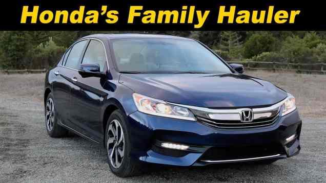 2016 Honda Accord Review