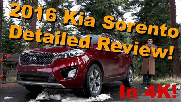 2016 Kia Sorento Detailed Review and Road Test – in 4K!