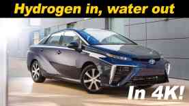 2016 Toyota Mirai Hydrogen Car Review