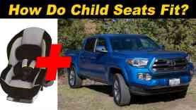 2016 Toyota Tacoma Child Seat Review