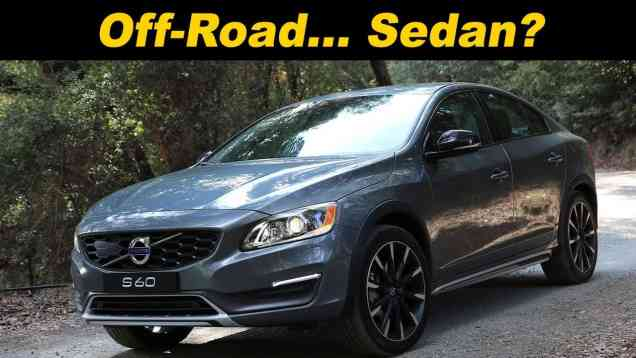 2016 Volvo S60 Cross Country Review