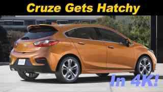 2017 Chevrolet Cruze Hatchback Review
