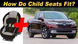 2017 Honda Ridgeline Child Seat Review