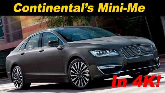 2017 Lincoln MKZ 2.0T / 2.0H Review