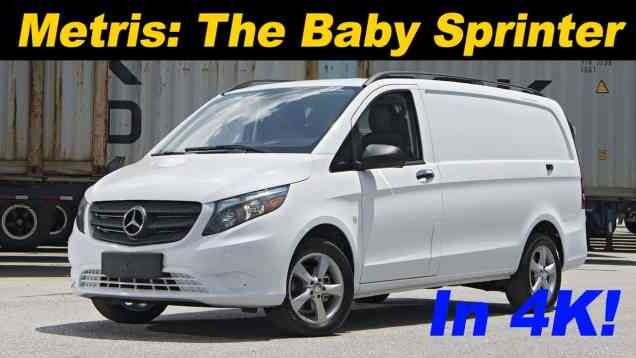 2017 Mercedes Metris Review
