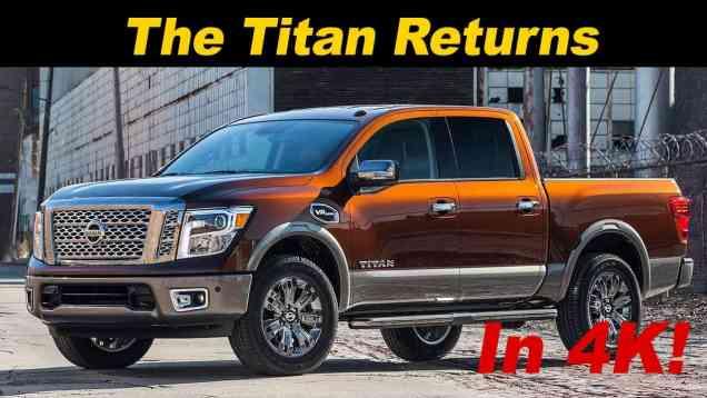 2017 Nissan Titan Truck Review