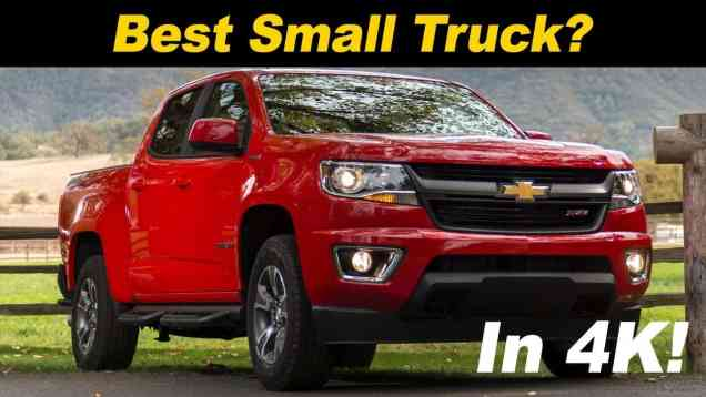 2018 Chevrolet Colorado Review