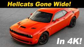 2018 Dodge Hellcat Widebody First Drive