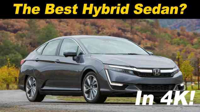 2018 Honda Clarity Plug In Hybrid Review