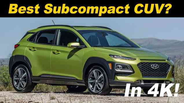 2018 Hyundai Kona 1.6L Turbo Review
