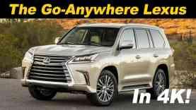 2018 Lexus LX 570 Review and Comparison