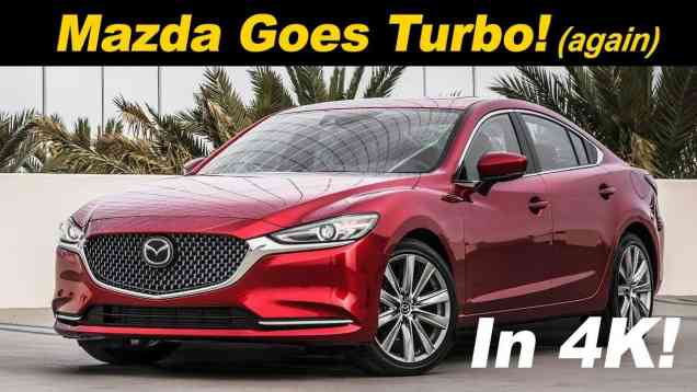 2018 Mazda6 2.5L Turbo (Signature) Review