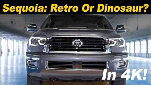 2018 Toyota Sequoia Review