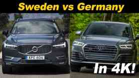 2018 Volvo XC60 T8 vs Audi SQ5