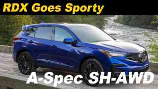 2019 Acura RDX A-Spec Review