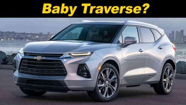 2019 Chevrolet Blazer First Look