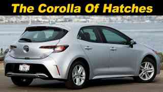 2019 Corolla Hatchback Review