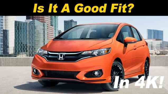 2019 Honda Fit Sport Review