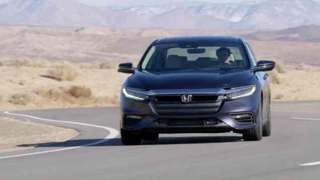 2019 Honda Insight Hybrid First Look