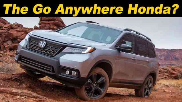 2019 Honda Passport First Look
