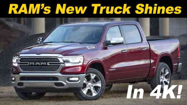 2019 RAM 1500 Review – The Best Pickup In America?