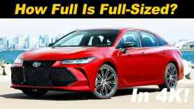 2019 Toyota Avalon Review