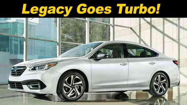 2020 Subaru Legacy First look