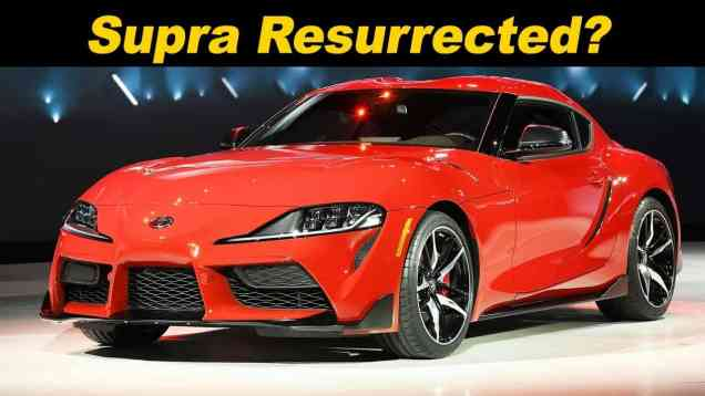 2020 Toyota Supra First Look