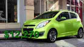 Four cheapest cars in America Versa vs Spark vs Mirage vs ForTwo